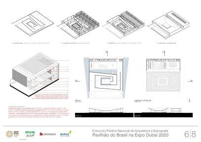 Pavilhao do Brasil - Dubai 2020 - Segundo Lugar - Prancha 6