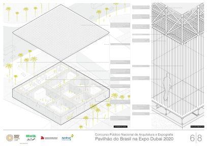 Pavilhao do Brasil - Dubai 2020 - Terceiro Lugar - Prancha 6