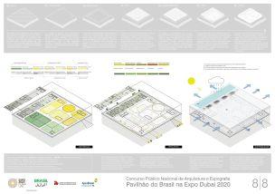 Pavilhao do Brasil - Dubai 2020 - Terceiro Lugar - Prancha 8