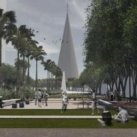 Premiados - Concurso Nacional - Eixo Monumental de Maringá - Menção Honrosa - Imagem 03