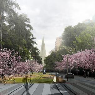 Premiados - Concurso Nacional - Eixo Monumental de Maringá - Segundo Lugar - Imagem 02
