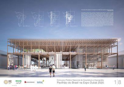 Pavilhao do Brasil - Dubai 2020 - Menção Honrosa - Prancha 1