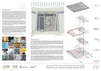 Pavilhao do Brasil - Dubai 2020 - Menção Honrosa - Prancha 2