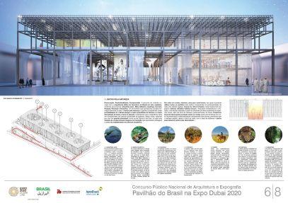 Pavilhao do Brasil - Dubai 2020 - Menção Honrosa - Prancha 6
