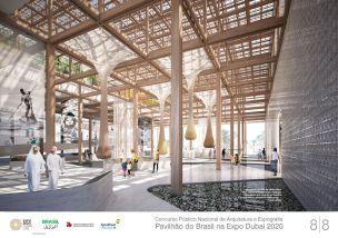 Pavilhao do Brasil - Dubai 2020 - Menção Honrosa - Prancha 8
