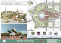 Premiados - Concurso Nacional - Eixo Monumental de Maringá - Terceiro Lugar - Prancha 02