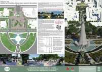 Premiados - Concurso Nacional - Eixo Monumental de Maringá - Menção Honrosa - Prancha 02